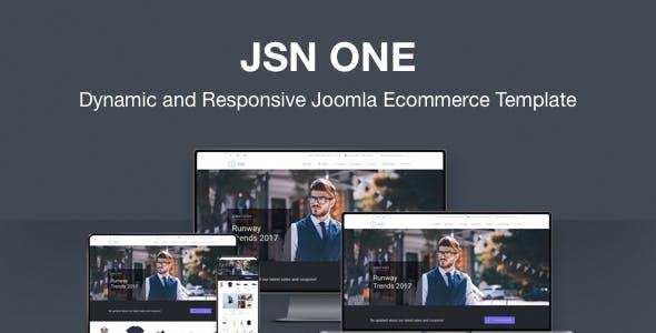 JSN One-Responsive Joomla E-commerce Template