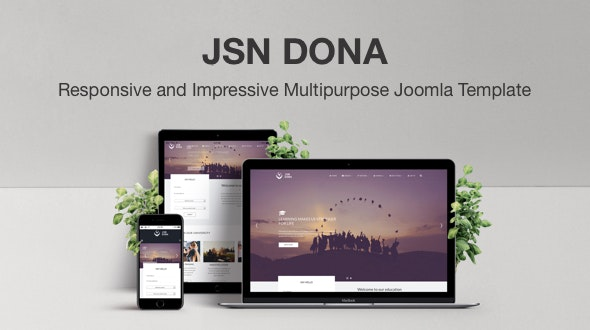 JSN Dona - Responsive and Impressive Multipurpose Joomla Template - Corporate Joomla