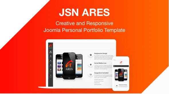 JSN Ares - Creative and Responsive Joomla Personal Portfolio Template - Portfolio Creative