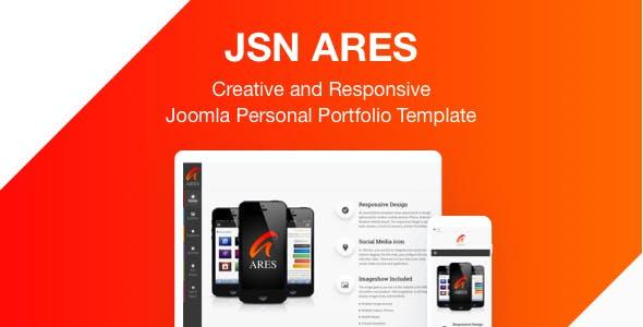 JSN Ares - Creative and Responsive Joomla Personal Portfolio Template