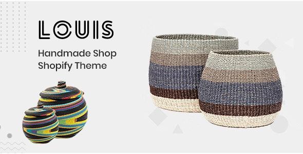 Louis – Handmade & Craft Shopify Theme - Shopping Shopify