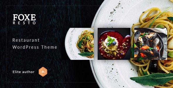 Download Foxeresto - Restaurant WordPress Theme