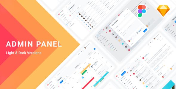 Arion – Admin Dashboard & UI Kit Sketch Template - Sketch Templates