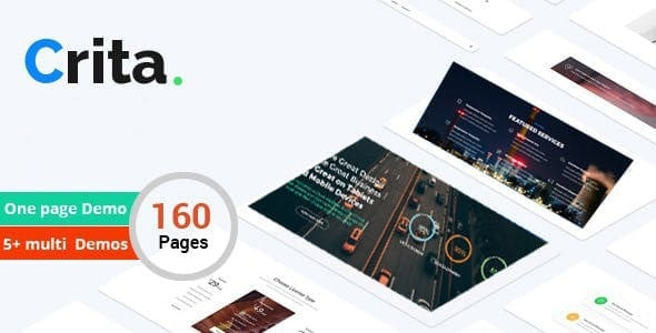 Crita | The Responsive Multi-Purpose Joomla Template - Creative Joomla