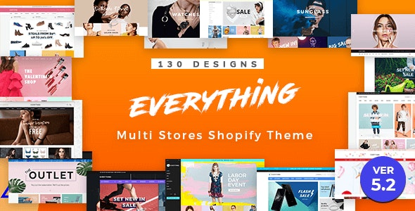Everything | Multipurpose Responsive Sectioned Shopify Themes Bundle - Fashion Shopify