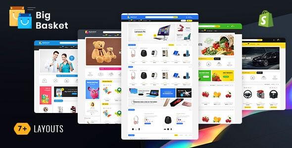 Big Basket - Shopify Multi-Purpose Responsive Theme - Shopping Shopify