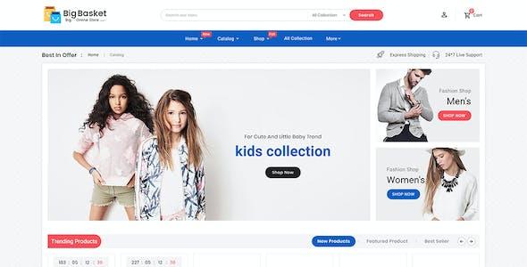 Big Basket - Shopify Multi-Purpose Responsive Theme