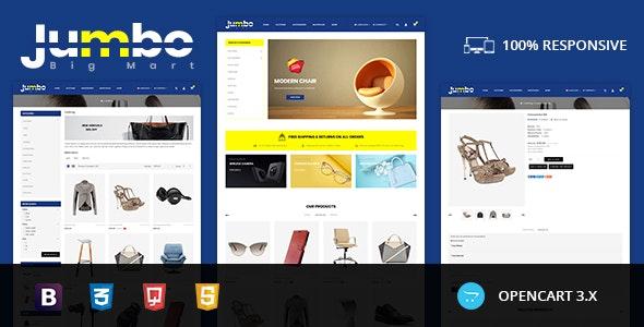Jumbo - Big Mart Opencart Responsive Theme - Shopping OpenCart