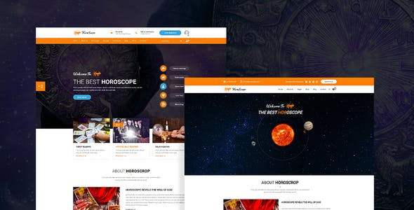 Horoscope - All in one Astrology and Numerology HTML Template