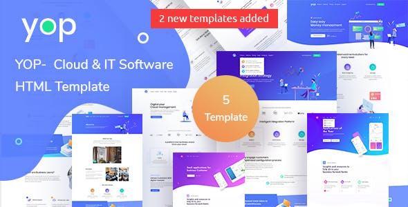 YOP - Cloud HTML Template