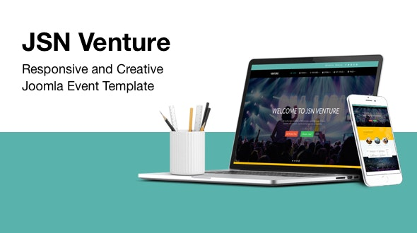 JSN Venture - Responsive and Creative Joomla Event Template - Events Entertainment