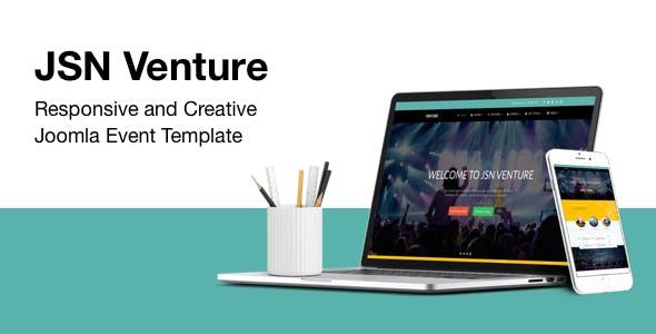 JSN Venture - Responsive and Creative Joomla Event Template