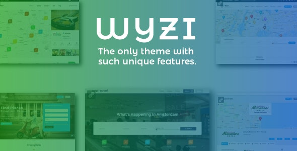 Wyzi - Social Directory WordPress Theme - Directory & Listings Corporate