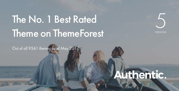 Authentic - Lifestyle Blog & Magazine WordPress Theme - Personal Blog / Magazine