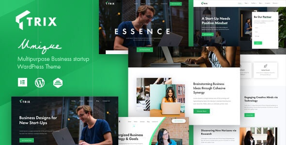 Trix - Startup Business Theme - Business Corporate