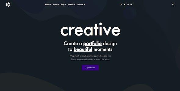 Elementor Parallax Beautiful & Creative WordPress Themes