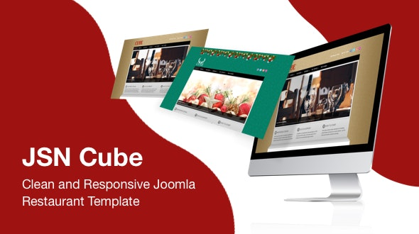 JSN Cube - Clean and Responsive Joomla Restaurant Template - Fashion Retail