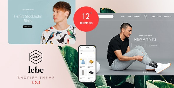 Lebe - Multipurpose Shopify Theme - Shopify eCommerce