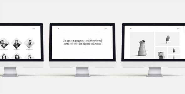 Vava – Minimalistic Multipurpose Portfolio Template - Portfolio Creative