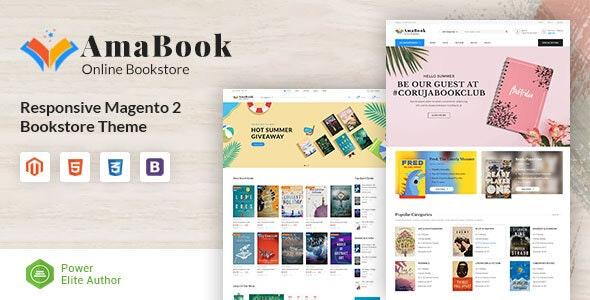 AmaBook - MultiPurpose Responsive Magento Theme - Shopping Magento
