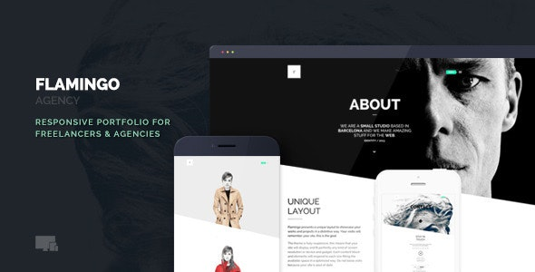 Flamingo – Agency & Freelance Portfolio Theme for WordPress