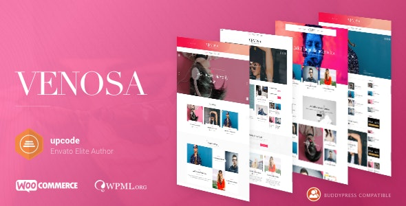 Venosa - Magazine & Blog WordPress Theme - Blog / Magazine WordPress