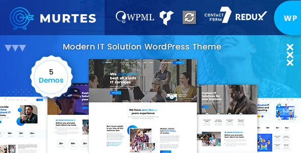 Murtes - IT Solutions WordPress Theme by Case-Themes