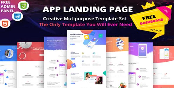AppZina - App Landing Page - Technology Site Templates