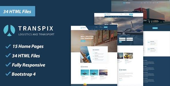 Transpix - Logistics HTML Template