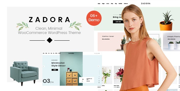 Zadora - Clean, Minimal WooCommerce WordPress Theme - WooCommerce eCommerce