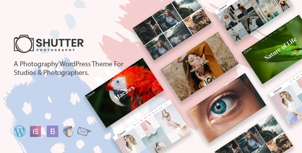 Shutter v2.9.3 – Photography WordPress Theme