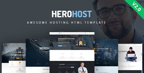 HeroHost - Web Hosting HTML Template - Hosting Technology