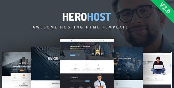 HeroHost - Web Hosting HTML Template