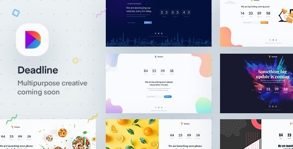 Deadline - React Coming Soon Templates - Under Construction Specialty Pages