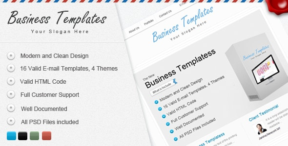 Bussiness Templates - Email Templates Marketing