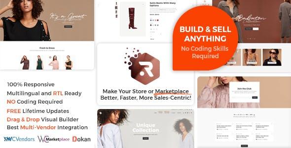 Multi Vendor Marketplace WordPress eCommerce Themes