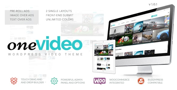 OneVideo - Video Community & Media WordPress Theme - Entertainment WordPress