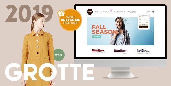 Grotte - A Dedicated WooCommerce Theme - WooCommerce eCommerce