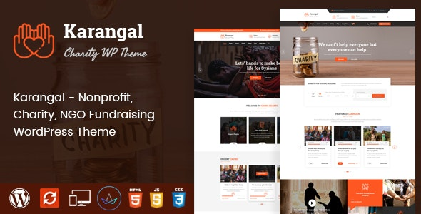 Karangal - Charity WordPress Theme - Charity Nonprofit