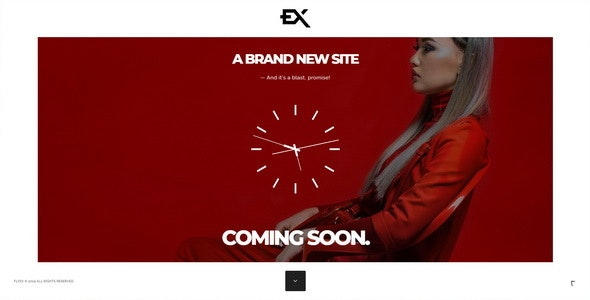 Flyex - Creative Coming Soon Template - Under Construction Specialty Pages