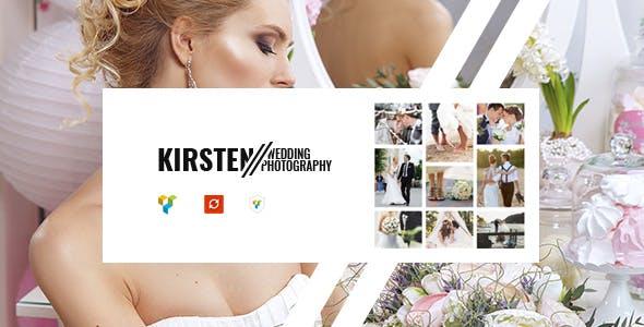 Download Kirsten - Clean Wedding Photography Theme