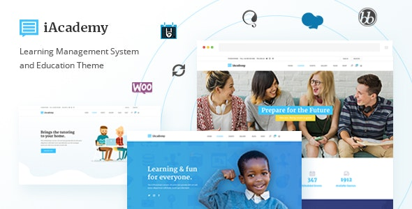 iAcademy - Education Theme for Online Learning - Education WordPress