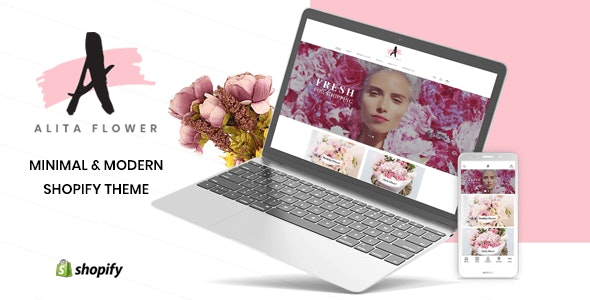 Alita - Flowers & Gifts Shop Shopify Theme - Shopify eCommerce