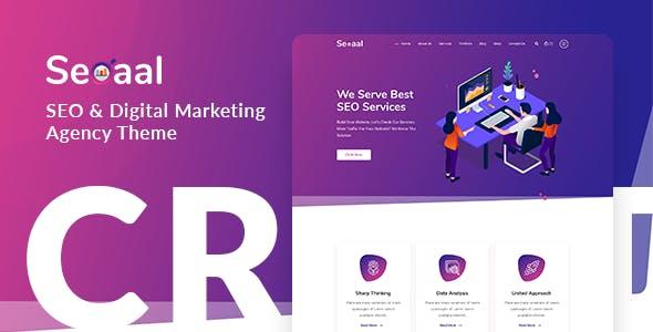 Seoaal - SEO & Digital Marketing WordPress Theme
