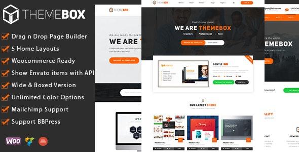 Themebox - Digital Products Ecommerce WordPress Theme - Technology WordPress