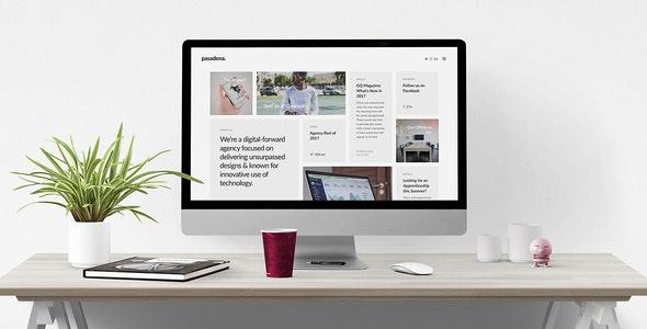 Pasadena – Unique Responsive HTML5 Portfolio - Portfolio Creative