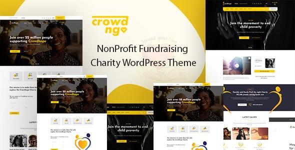 Crowdngo – Fundraising Charity WordPress Theme - Charity Nonprofit