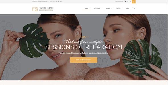 Jacqueline | Spa & Massage Salon Beauty WordPress Theme + Elementor