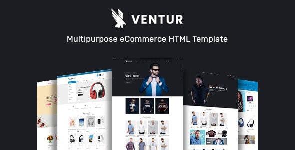 Ventur Multipurpose eCommerce HTML Template