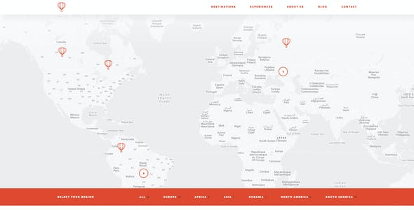 Travel Dojo - Agency Tours HTML/CSS